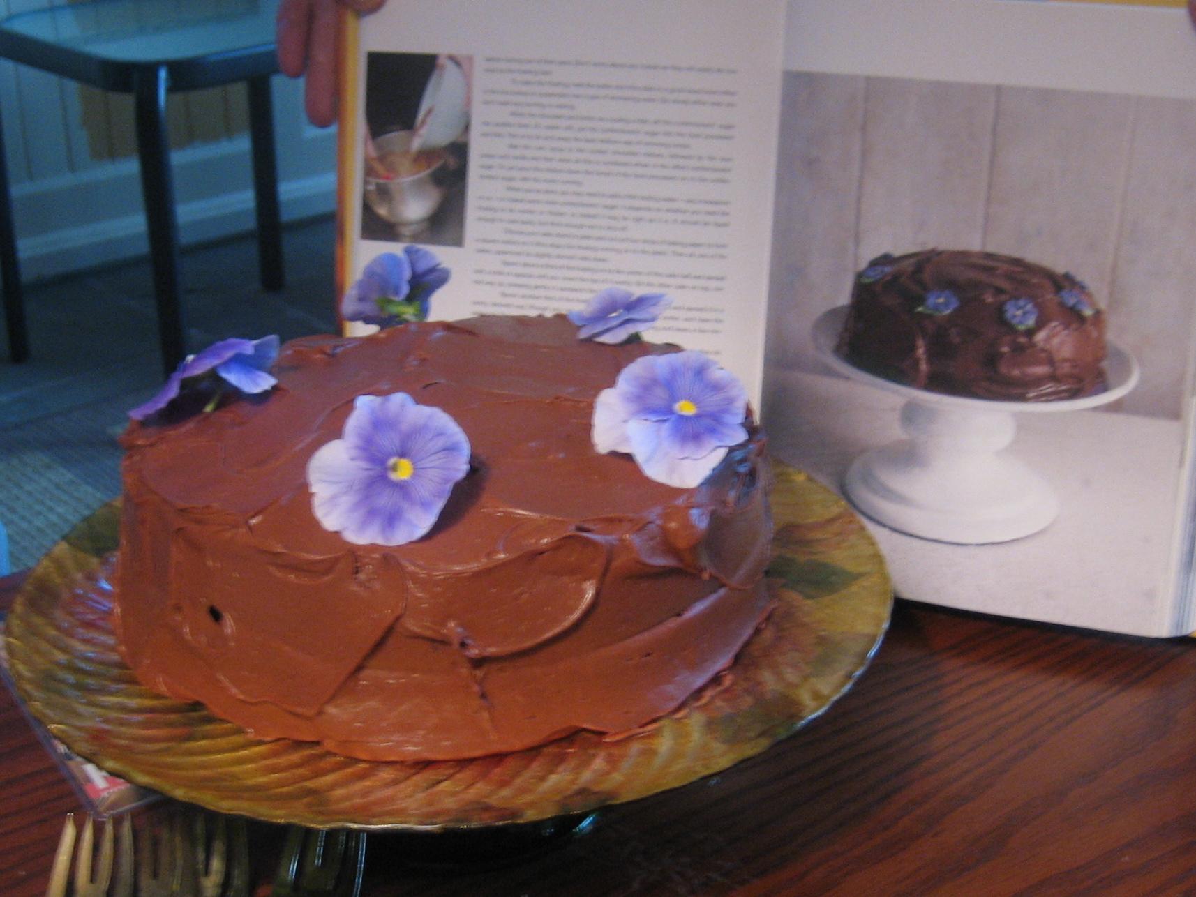 Old-Fashioned Coconut Cake Recipe at Epicurious.com